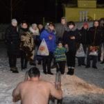 Место, определенное  для проведения крещенских купаний в Сланцевском районе