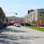 Ограничение движения транспорта 9 мая