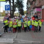 Сланцевская ГИБДД знакомит дошкольников с миром дорожной безопасности