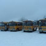 «Школьные автобусы» Сланцевских образовательных организаций прошли проверку на безопасность