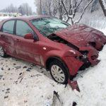 Сводка ДТП в Сланцах с 21 по  26 января 2019 года