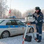 Госавтоинспекция информирует о местах установки передвижного комплекса измерения скорости на территории Сланцевского района