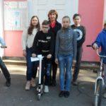 Сотрудники ГИБДД на площадках учреждений  культуры  напоминают детям о соблюдении ПДД