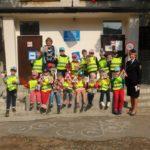 Госавтоинспекторы провели с дошкольниками тематическую экскурсию «Юный пешеход»