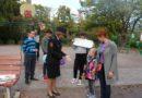 Сланцевчанам  напомнили о соблюдении ПДД в рамках акции «Безопасный двор»