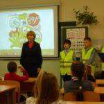 ЮИДовцы Сланцевского района призвали детей использовать световозвращатели в темное время суток