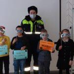 В Сланцевском районе сотрудники ГИБДД продолжают проводить «уроки зимней дорожной безопасности»