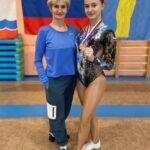 Спортсменка из Сланцев заняла третье место на первенстве России по спортивной аэробике