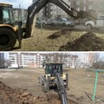 В Сланцах начались работы по замене тепловых сетей