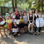 Сотрудники ГИБДД и молодежные активисты провели для детей игровую интерактивную программу