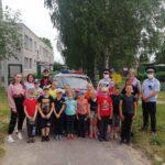 Дети знакомились  с профессией автоинспектора